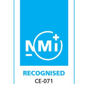 Certificado NMI CE071 2014/31/UE IPFNA