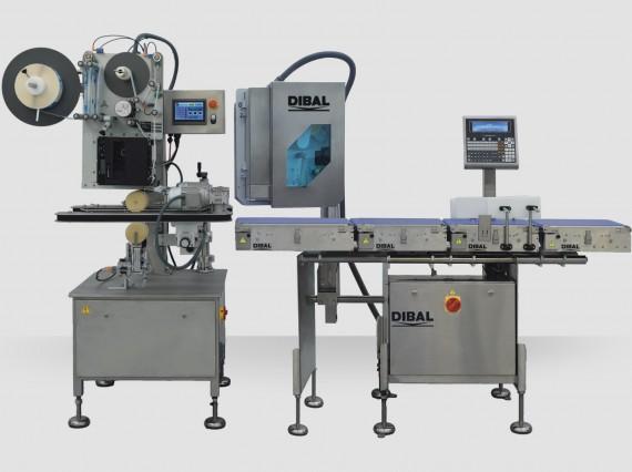 Sistema de pesaje y etiquetado automático en C Dibal CLS-4000