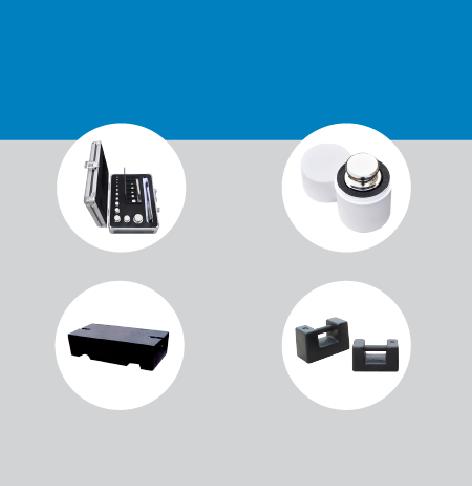 Incluimos las pesas patrón en nuestro catálogo de productos