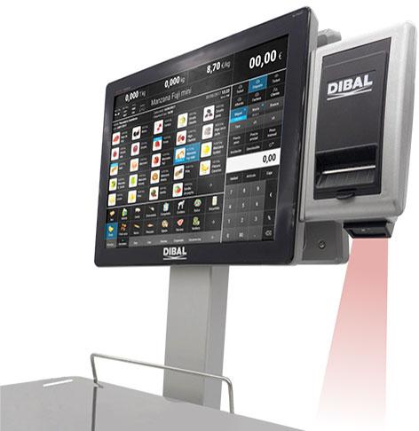 Nueva opción de escáner integrado en balanzas Dibal