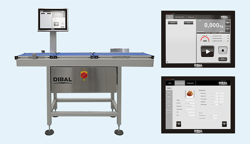 Dibal CW 800: New automatic checkweigher for production lines