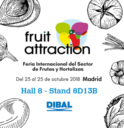 Nos estrenamos en Fruit Attraction, ¡visítanos!