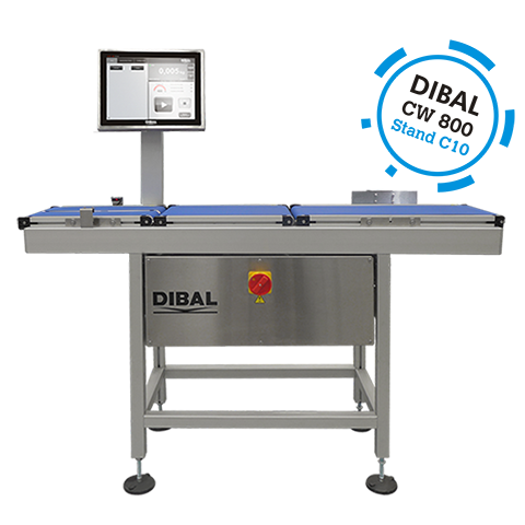 Dibal presents its novelties in weighing, labelling and inspection solutions for the industry in the next edition of EMPACK Madrid