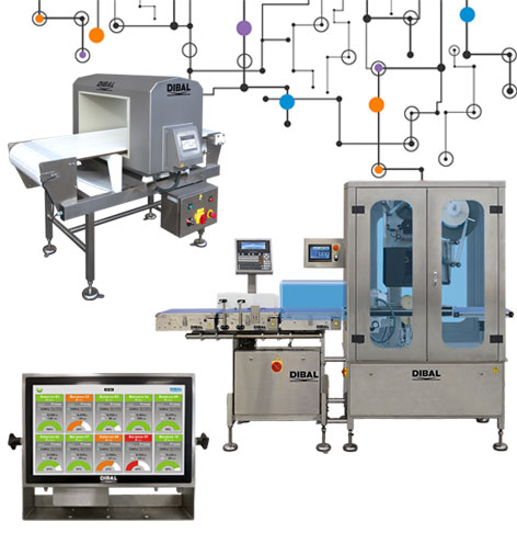 Dibal will show its weighing, labelling and inspection solutions for industry 4.0 in the next edition of EMPACK Madrid