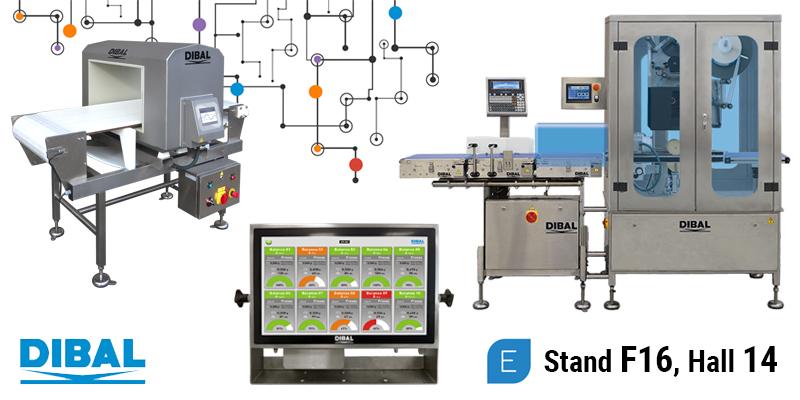 Dibal presentará sus soluciones de pesaje, etiquetado e inspección para la industria 4.0 en la próxima edición de EMPACK Madrid