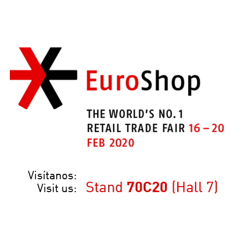 We will be at Euroshop again Visit us! Hall 7 - Booth 70C20