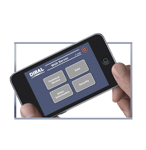 Dibal retail scales with WEB SERVER integrated