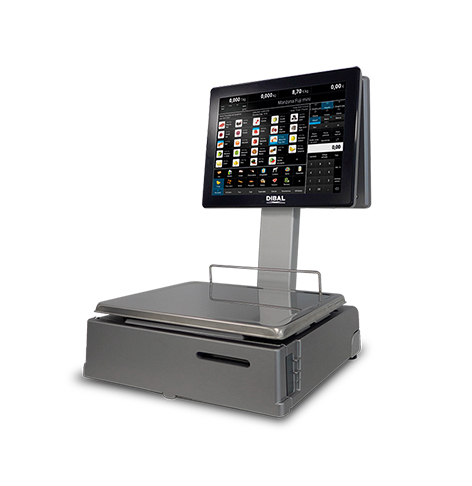 New DIBAL Product: Retail Scales with 3-inch Ticket Printers
