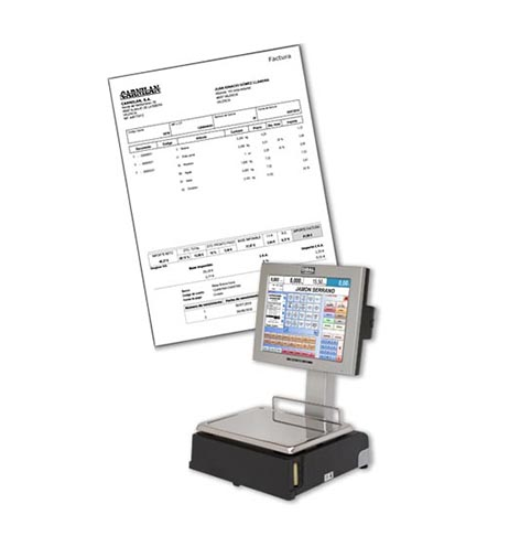 Invoicing management in Dibal CS-1000 PC scales