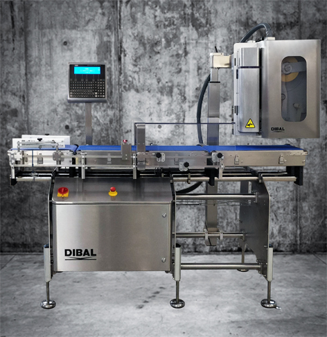 New generation of 4500 automatic weighing and labelling equipment