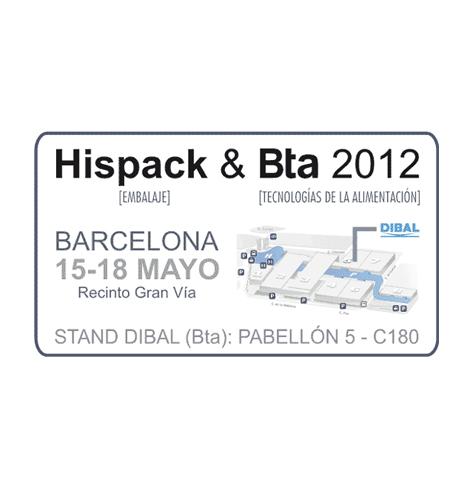 Dibal at INTERWEIGHING and HISPACK & BTA 2012