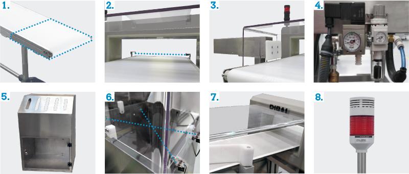 Los detectores de metales Dibal cumplen las exigencias de las normas IFS/BRC de seguridad alimentaria