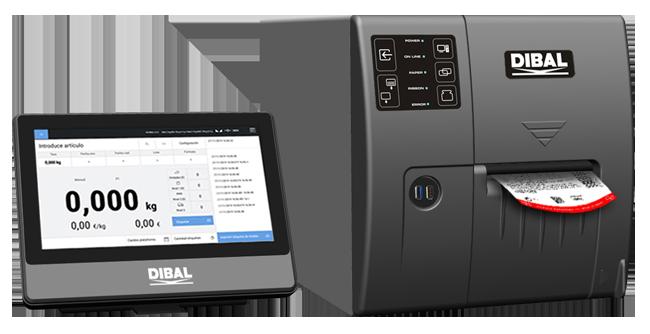 Nueva etiquetadora manual con pesaje LP-5000 para entornos industriales de Dibal