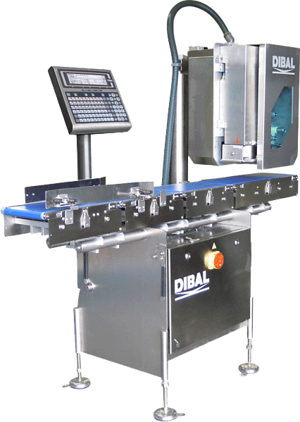 New high speed automatic weighing and labelling systems: Dibal LS-4000