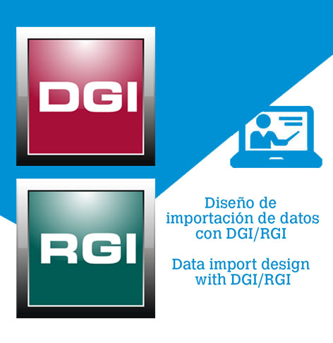 How to design a data import with DGI/RGI