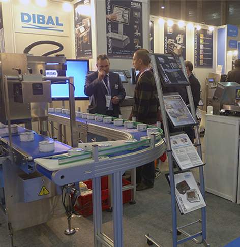 Dibal presents in EMPACK Madrid 2014 its weighing and labelling solutions