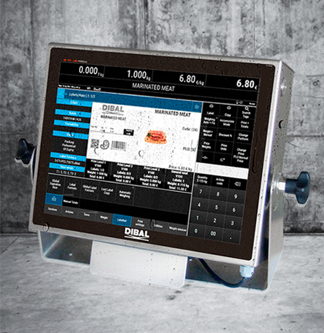 New generation of industrial weight indicators and PCs from Dibal