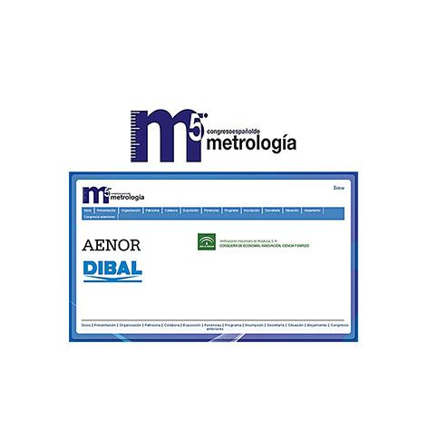 Dibal, colaborador del 5º Congreso Español de Metrología