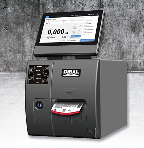 New Dibal LP-5000 manual labeller for industrial environments