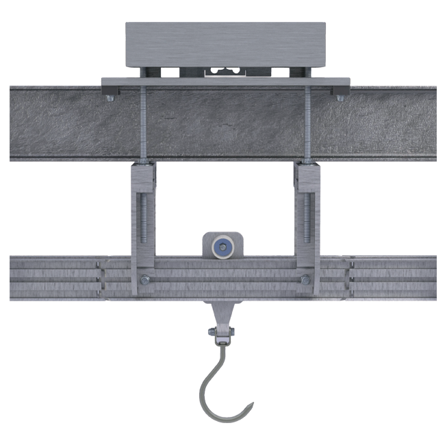 Single load cell aerial scales Dibal AG1 Series