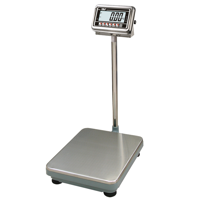 Single load cell bench scales Dibal BAV Series with Cely indicator