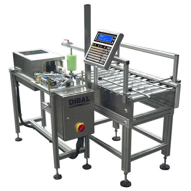 Special automatic weight-price labeller Dibal
