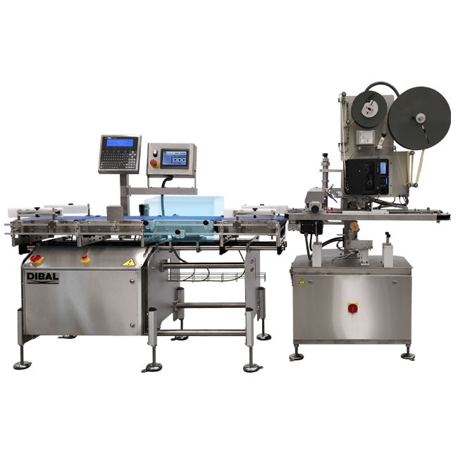 Automatic C-Wrap Labellers Dibal CLS-4500 Series