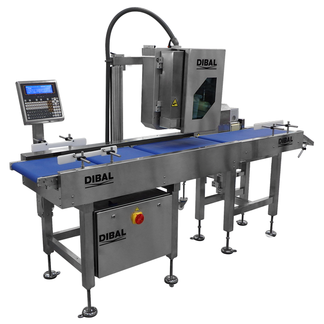 Special automatic weigh-price labeller Dibal