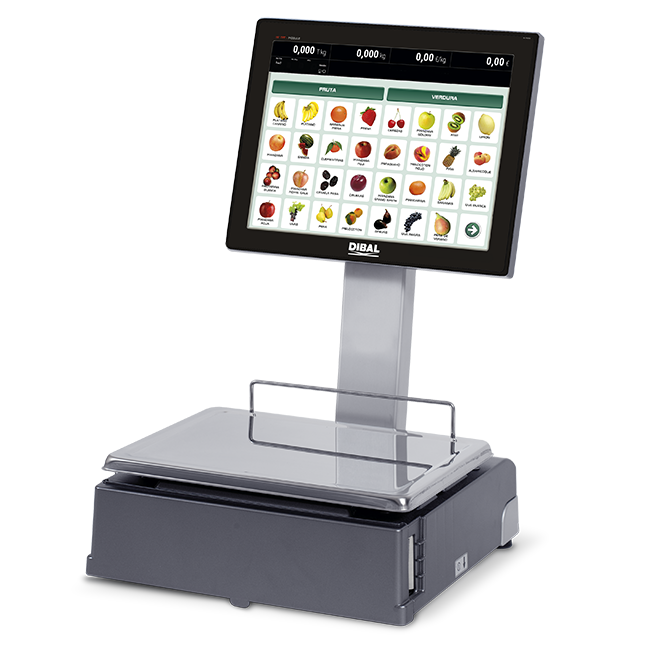 Self-service scales Dibal CS-1200 Series