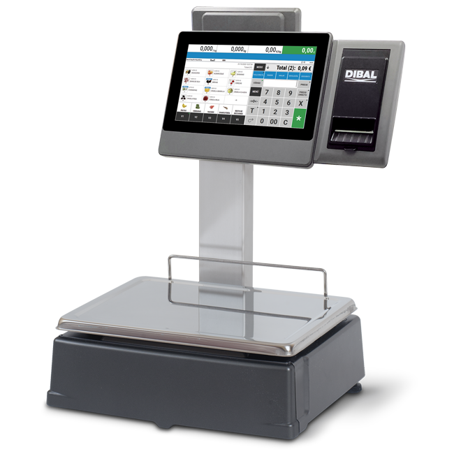 Counter PC scales Dibal CS-2100 Series