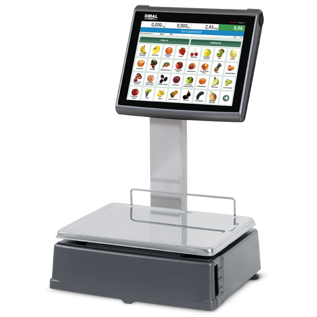 Self-service PC scales Dibal CS-2100 Series