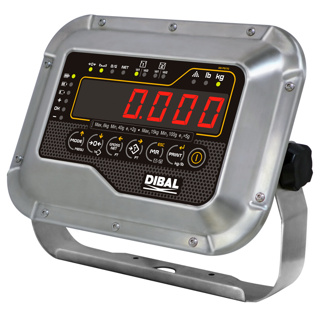 Weight indicators Dibal DMI-610 models