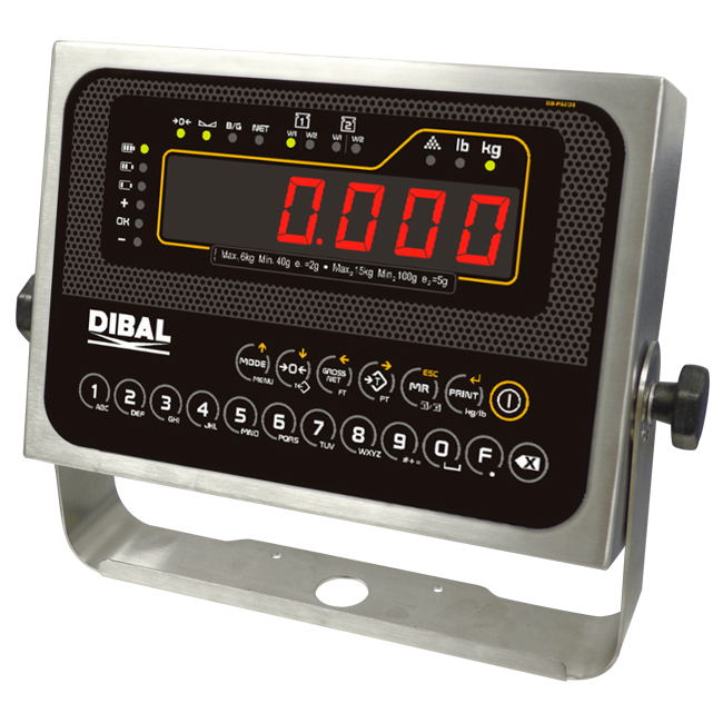 Weight indicators Dibal DMI-620 Series