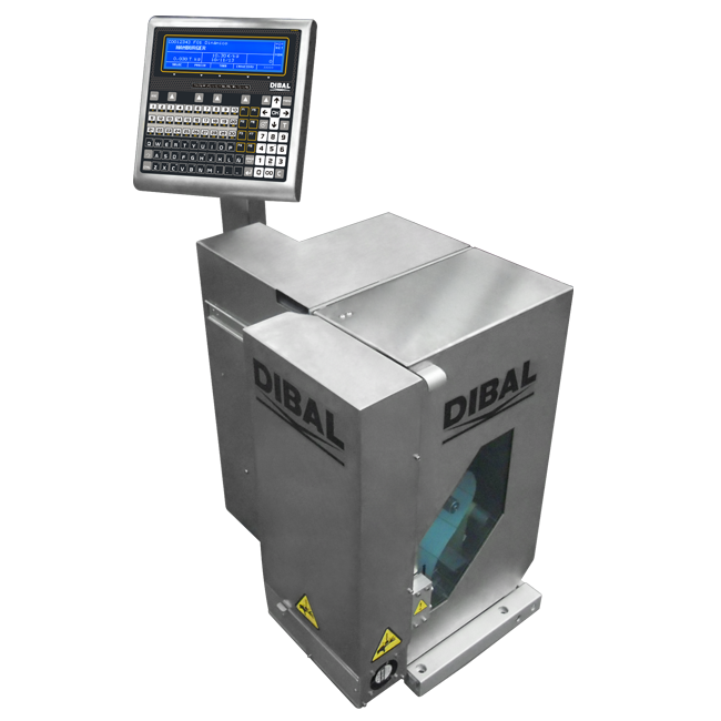 Special double labelling system without weighing Dibal