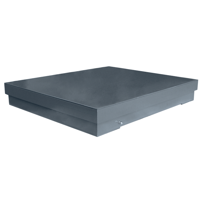 Hybrid top-of-floor weighing platforms Dibal HS Series