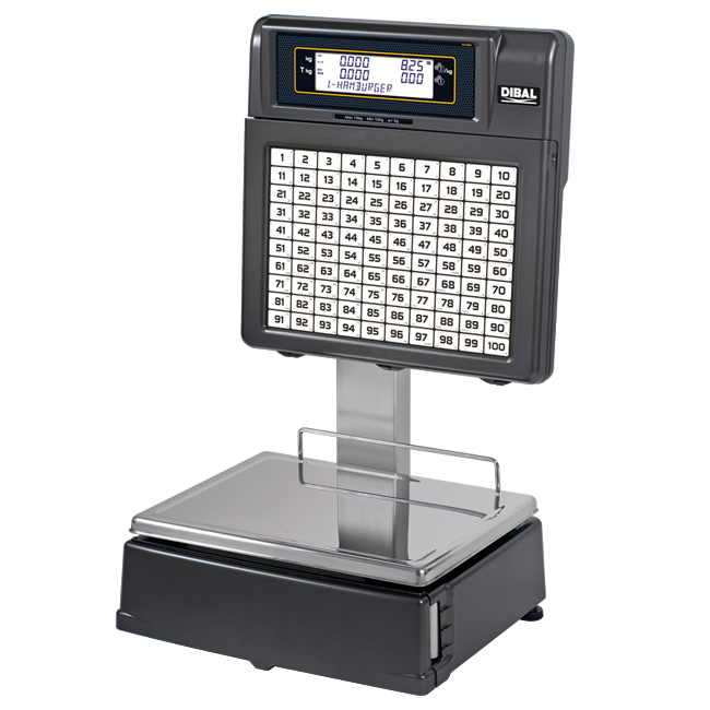 Self-service scales Dibal MISTRAL Series (500 Range)