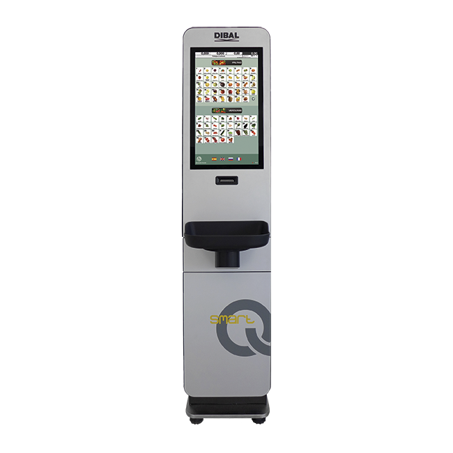 Smart Q scale model kiosks Dibal