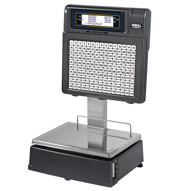 Self-service scales Dibal TORNADO Series (500 Range)