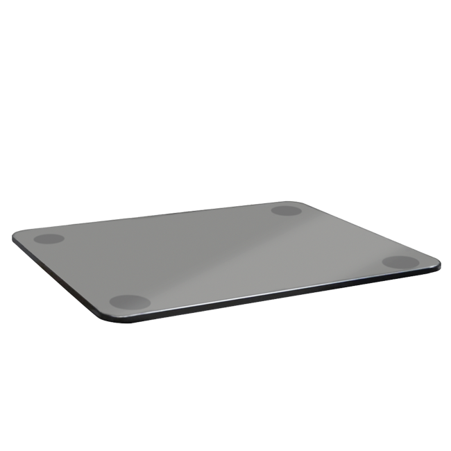 Tempered glass plate (customizable)