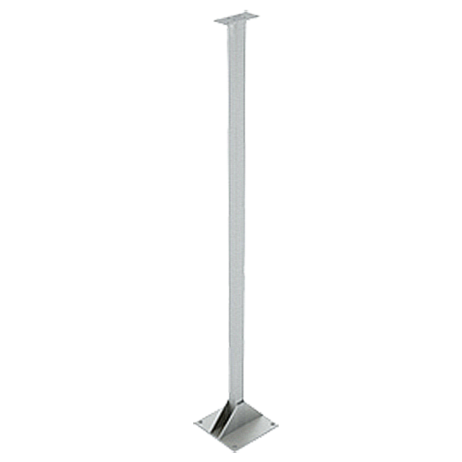 Columna inox para indicador de H1.000 mm