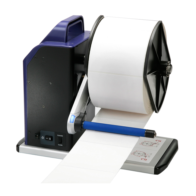 RW-3000 external label rewinder