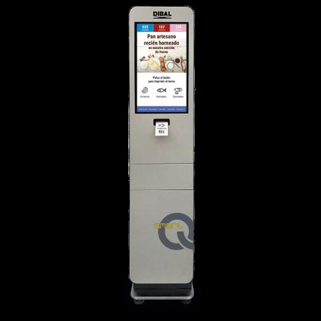 Quioscos modelo Smart Q informativo Dibal