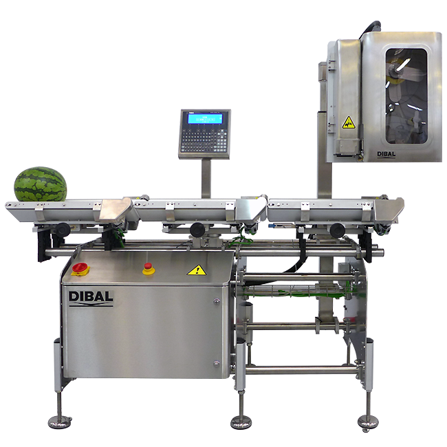 Pesaje y etiquetado automático para productos esféricos LS-4500 V