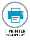 "3"" receipts printer"