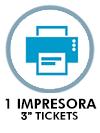 "Impresora de 3"" tickets"