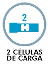 2 células de carga