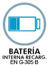 Batería interna recargable en G-305 B