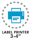 Label printer 3-4