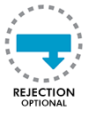 Rejection optional