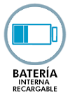 Batería interna recargable